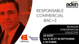 Responsable commercial - Réunions d'information collective