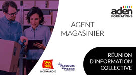 Agent magasinier - Réunion d'information collective